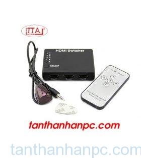 Bộ gộp HDMI 3 vào 1 ra có điều khiển