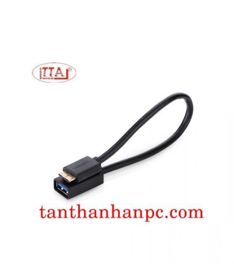 Dây chuyển micro USB 3.0 OTG tròn Ugreen
