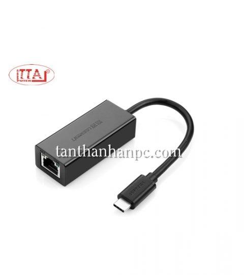 Cáp USB 3.1 Type C ra Lan 10/100Mbps Ugreen