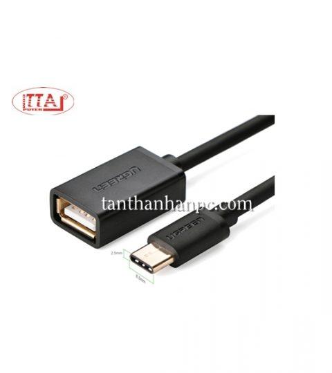 Cáp OTG USB Type C sang USB 2.0 Ugreen