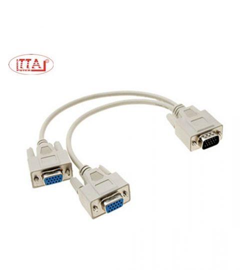 Cáp chia VGA 1 ra 2 cổng VGA