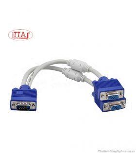 Cáp chia VGA 1 ra 2 cổng VGA chống nhiễu