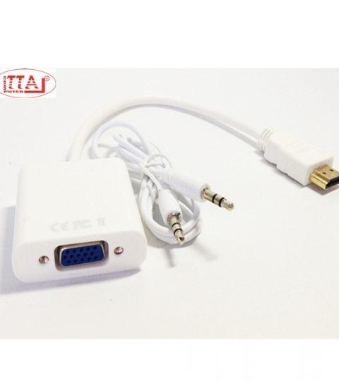 Dây chuyển HDMI ra VGA có audio