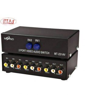 Bộ gộp tín hiệu AV 2 vào 1 ra