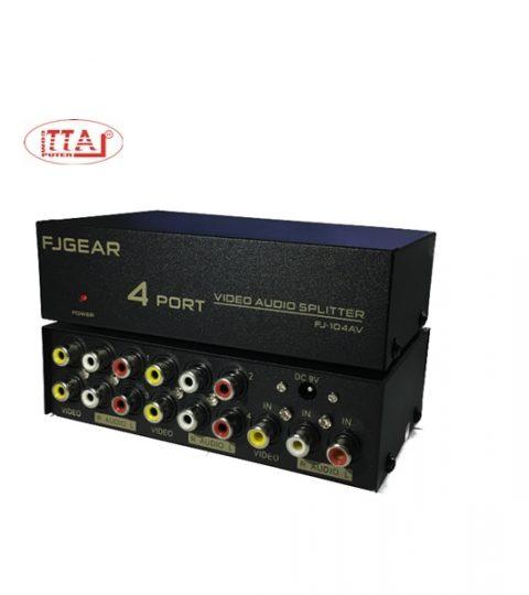 Bộ chia tín hiệu AV 1 ra 4