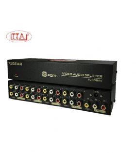 Bộ chia tín hiệu AV 1 ra 8