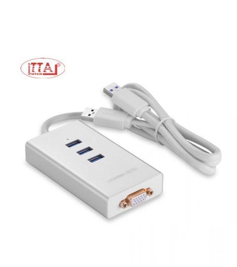Cáp USB 3.0 sang VGA và 3 cổng USB 3.0