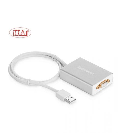 Cáp chuyển đổi USB sang VGA chính hãng Ugreen 40244