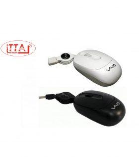 Chuột VAIO dây rút chuẩn cắm USB