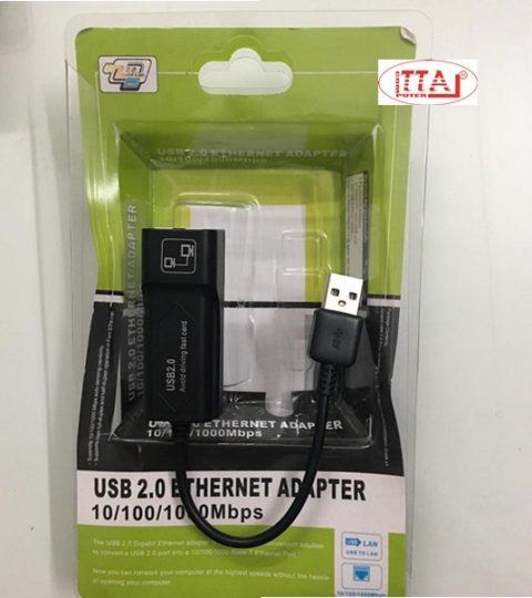 USB ra LAN 10.100 chất lượng tốt không cần cài đặt